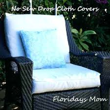 patio furniture no cushions cushion outdoor replacement seat for chair covers27