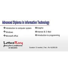 advance diploma in information technology in rohini sector  advance diploma in information technology