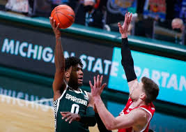 wisconsin beats michigan state 85 76