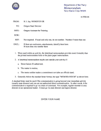 56 Printable Policy Memo Template Forms Fillable Samples