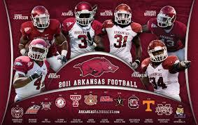 Auburn Football Depth Chart 2011 Arkansas Razorbacks Football Arkansas Razorbacks Schedule