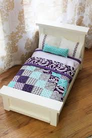 how to make doll furniture. DIY Doll Beds And Tiny Quilts How To Make Furniture
