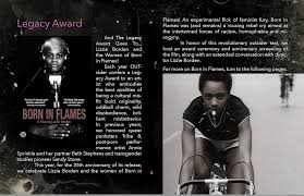 Legacy Award: Born in Flames - OUTsider