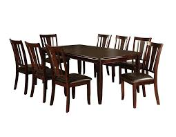 round dining table for 8 with leaf table and 8 chairs espresso finish dining table sets 9 pieces with 1 table 8 chairs round dining table for 8 with leaf