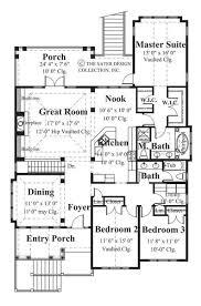 Craftsman House Plans  House Designs of the Week   Sater Design    Whisperwood Floor Plan
