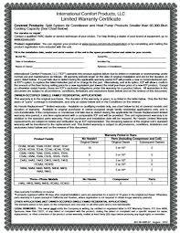 Warranty Certificate Template Word Guarantee On Free Blank