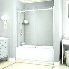 glass tub door installation tub shower doors glass bathtub doors bathtubs the home depot custom shower glass tub door installation