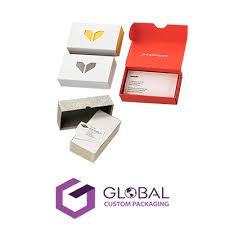 Custom Business Card Boxes Wholesale Packaging Gcp