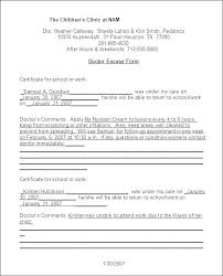 Free Note Template Dr Note Template Fake Doctors Note