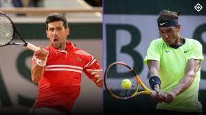 Novak Djokovic vs. Rafael Nadal ...