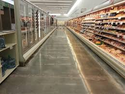 vct vinyl composition tile tile removal on a grocery floor with no edge