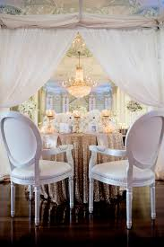 wedding table ideas. Sequin Gold Table Linen At Sweetheart With Jones Soda Favors Wedding Ideas