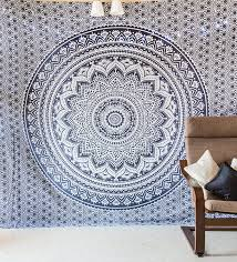 amazoncom indie pop mandala tapestry bedding with pillow covers