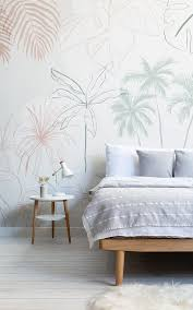 refreshingly modern wallpaper murals