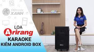 Loa kéo karaoke Arirang 3 trong 1: có tính năng Android Box (MK-3600)