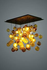 hand blown chandelier shooting star hand blown glass chandelier collective lighting hand blown glass globe chandelier