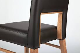 leather restaurant chairs. Modern Wood And Leather Chair Dining Design Minimalist Retro Cafe Bar Restaurant Chairs