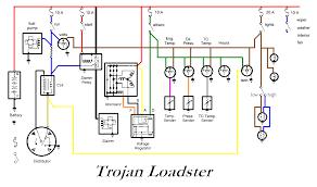 1957 trojan loader wiring view