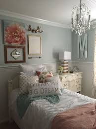 ... Stupendous Bedroom Ideas For Teenage Girls 13 Girls Bedroom Mint Coral  Blush White Metallic Gold ...