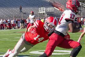 Brock Thomas 2017 18 Football Cornell University Athletics