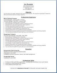 online sample resume