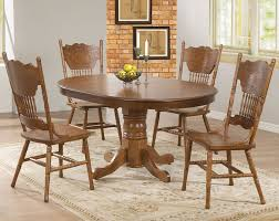 wood dining room chair. Oval Pedestal Dining Table Wood With Candles Centerpiece And Curving Wooden Chairs: Full Room Chair
