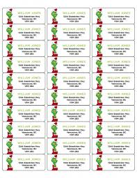 Avery Label Templates 8160 Avery Christmas Shipping Labels Christmas Return Address