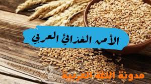 نتيجة بحث الصور عن الأمن الغذائي العربي