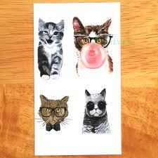 водостойкая временная тату наклейка Dr Dog Tattoo Cool Cat Tatto Stickers Flash Tatoo поддельные