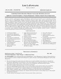 Scrum Master Resume Sample Reference Master Resume Template Unique