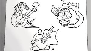 He is the main character in the nintendo games of the same name, such as kirby's dream land. Magical Coloring Box Kirby Coloringpages Youtube
