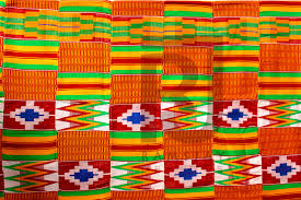 Ghana Fabric Designs Kente Handwoven Cloth Kente Ashanti Kente African Fabric