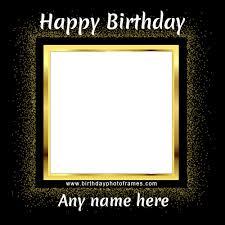 fantastic birthday wishes photo frame