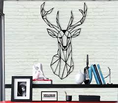 antlers wall hangings metal wall decor