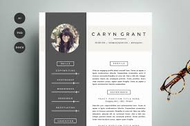 Great Resume Designs 24 Resume Templates That Look Great In 2415 Creative Market Blog 12