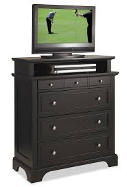 Media Chest Bedroom Home Styles Bedford Tv Media Chest Black Finish Home Furniture