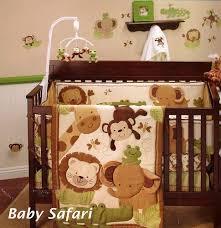 baby safari 8 piece crib bedding set
