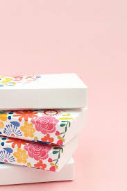 Gift Box Decoration Ideas DIY Gift Wrapping Ideas DIY Floral Gift Boxes Decorate your 81