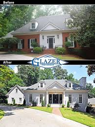 Exterior Home Renovations House Before And After Pictures Kerala - Exterior house renovation