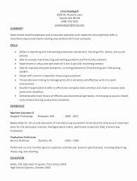 Sample Resume Objectives For Forklift Operator Amazing 40 New New Forklift Resume