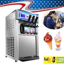 Soft Serve Vending Machine Awesome Commercial Soft Ice Cream Machine 48 Flavor Frozen Yogurt Cone Maker