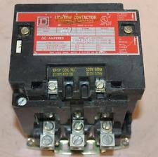 square d lighting contactor one square d lighting contactor 60 amp 600v 120v coil 8903spg3 ser a