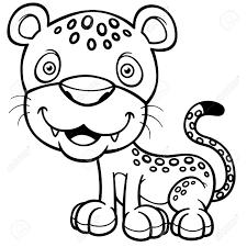 ilration of jaguar coloring book stock vector 28869791