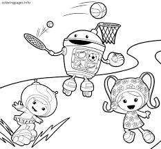 Small Picture TEAM UMIZOOMI Coloring Pages PDF Free coloring pages