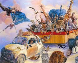 brigitte bardot foundation painting animal vigdis famous contemporary painter art