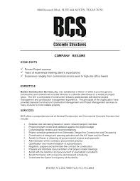 Best Construction Concrete Foreman Resume Template Free Example