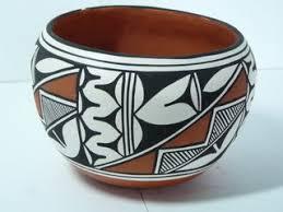 navajo pottery designs. Painted Pot Navajo Pottery Designs