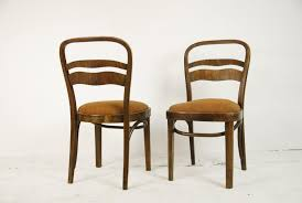 furniture art deco style. Vintage Art Deco-Style Walnut Veneer Chairs, Set Of 2 Furniture Deco Style T