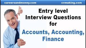 Preparation For Accounts Interview Entry Level Interview Questions For Accounts Accounting Finance