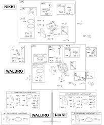 Briggs and stratton 28d707 0140 01 parts diagram for walbro nikki zoom pooptronica gallery